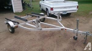 2 place jet ski trailer for single place