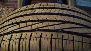 255/45/19  Goodyear Eagle RSA Performance (4) Tires 90%