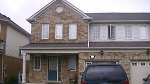 3 BR HOUSE $1500, JUNE/JULY 2016, Chinguacousy & Sandalwood