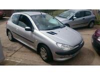 2003 peugeot 206 12 month mot cheap car