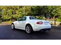 MAZDA MX-5 2.0i Sport Tech 2dr (white) 2012