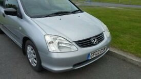 Quick sale Honda Civic 1.4 2003 New MOT !!!