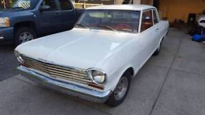 1963 chevy II nova - 2 door post