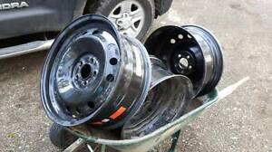 "4 x 18"" rims, barely used"