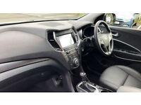 HYUNDAI SANTA FE 2.2 CRDi Blue Drive Premium SE 5dr Auto [7 Seats] (white) 2016