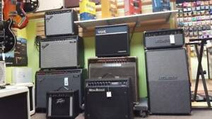 Used and Brand New amps on sale!