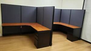 office furniture workstations desks chairs Reception New & Used