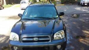 2006 Hyundai Santa Fe GL SUV, Crossover