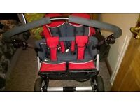 herqueles twin raptor 3spin double buggy