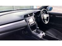 HONDA CIVIC 1.0 VTEC Turbo SE 5dr (white) 2017