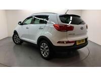 2014 Kia Sportage 2 ISG Petrol white Manual