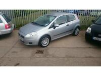 2008 FIAT PUNTO one owner only 47000 MILES