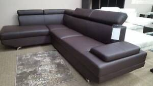 Brand New Brown Sectional Couch Sofa