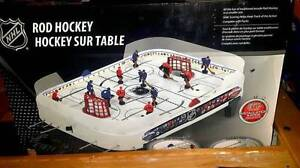 New Condition NHL Rod Hockey Table Top Game, small size
