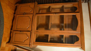 Solid Wood Dining Table and China Cabinet Kitchener / Waterloo Kitchener Area image 1