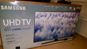 "65"" Samsung Smart SLIM 4k  LED UHDTV HDR"