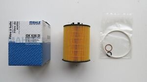 BMW 2003-2008 MAHLE ORIGINAL Oil Filter Kit OX636D 11427542021