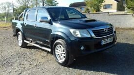 TOYOTA HILUX 3.0 INVINCIBLE top spec £64 per wk