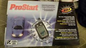 We install Prostart Remote Car Starter From Canadian Tire 120$