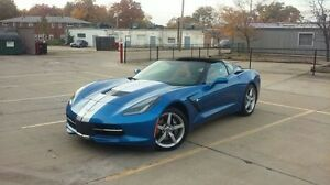 2014 corvette for sale.   Loaded 7 speed!