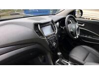 Hyundai SANTA FE 2.2 CRDi Blue Drive Premium SE 5dr Auto [7 Seats] (grey) 2016