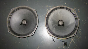 "8"" speakers  $5 for both"