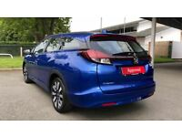 HONDA CIVIC 1.6 i-DTEC SE Plus 5dr (blue) 2017