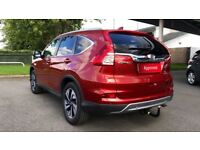 HONDA CR-V 1.6 i-DTEC 160 EX 5dr (red) 2017