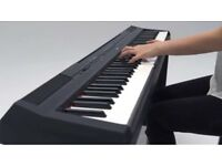 Yamaha P-115 Digital Piano - Black nearly new,
