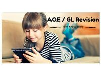 AQE / GL Revision and Practice. Online fun and interactive from The Transfer Tutor