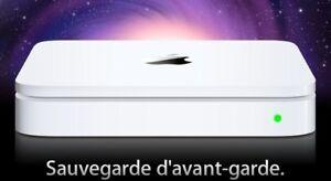 Apple Time Capsule - Disque de sauvegardes et borne d'accès WiFi