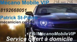 Mecano Mobile VIP • Service à domicile • 7/7 • 24heures