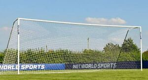 NEW OFFICIAL SIZE SOCCER GOAL NET 24X8