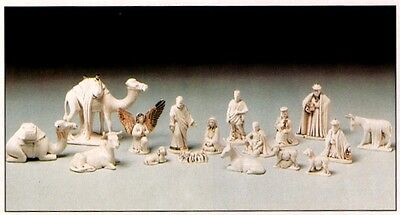 Ceramic Bisque Duncan Christmas Nativity Set Ready to Paint