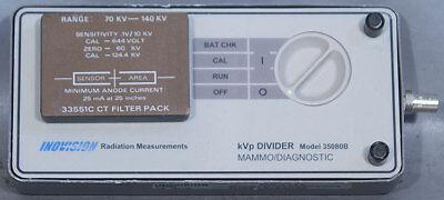 Flukekeithleyinovision 35080b Mammodiagnostic Kvp Divider W33551c Ct