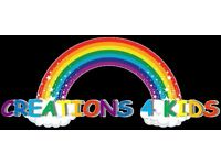 Become an Exclusive distributor of Creations 4 Kids Personalised Kids Products