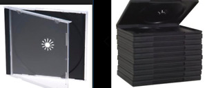 70 DVD Cases + CD Jewel Cases package NEW