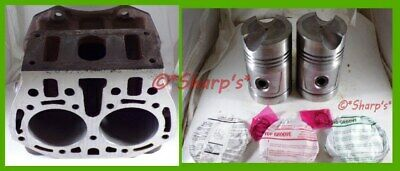 B1305r John Deere B Br Bo Cylinder Block With High Compression Pistons39-40