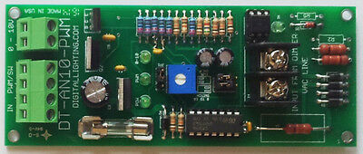 Dt-an10-pwm Converter From 120v Dimmer To 0-10v Analog Dimmer Control Signal