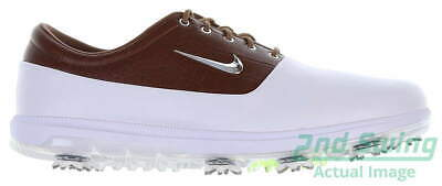 New Mens Golf Shoe Nike Air Zoom Victory Tour 13 White/Brown MSRP $180 AQ1479 10