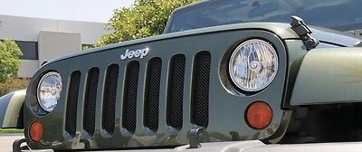 T-REX Sport Series Grille 1 Piece for 2007-2018 Jeep Wrangler JK JKU 46481 Black