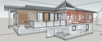 Cabins, Homes, Design and Drafting