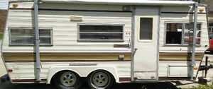 1980 Travelaire Trailer 18ft (Have ownership)