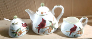 New Cardinal Ceramic Tea Set