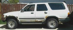 1993 Toyota 4Runner SUV, Crossover