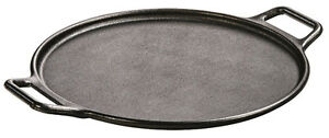Lodge P14P3 14-Inch Pro Logic Cast-Iron Pizza Pan