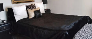 Unique and beautiful custom queen duvet cover for double or quee