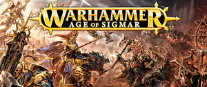 ASSORTED NEW MODEL KITS - WARHAMMER AGE OF SIGMAR- 40,000