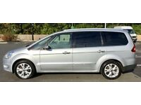 ford galaxy, titanium x, very good condition, top spec