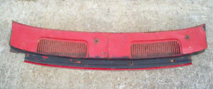 1967 1968 CHEVROLET CAMARO COWL GRILLE PANEL SS RS London Ontario image 1